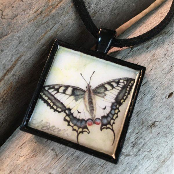 Oregon Swallowtail Butterfly Pendant