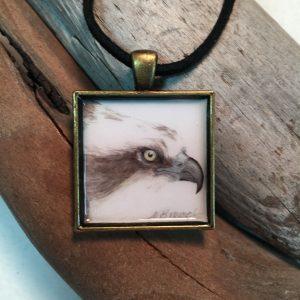 Osprey Art Print Pendant